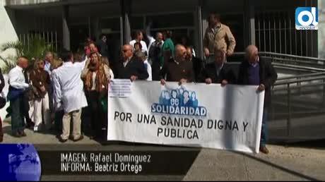 Marea Sanitaria en Jerez, fuente Andalucía Información, foto