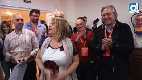 Mamen Sánchez, nueva secretaria general del PSOE de Jerez