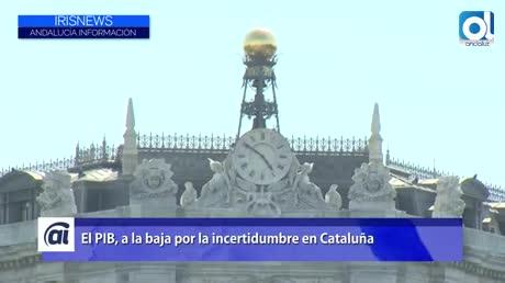 El Banco de España prevé menos crecimiento del PIB por Cataluña