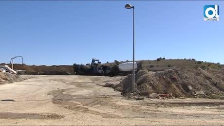 Extinguido el incendio en fábrica de cemento de Guillena con 2 heridos