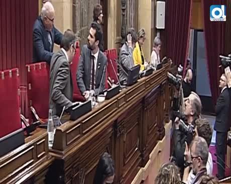 """Puigdemont prevé """"colapso constitucional"""" si vetan a Jordi Sànchez"""