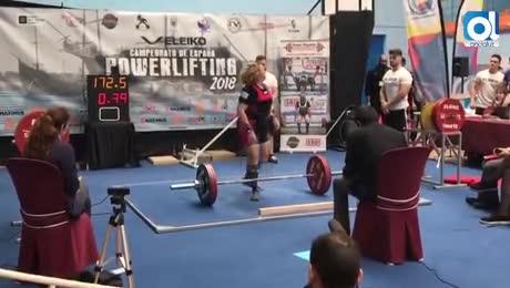 Mila Cuevas gana el Campeonato de España de Powerlifting