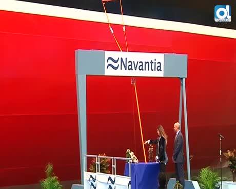 Unos 20 años después, Navantia Puerto Real entrega un nuevo petrolero