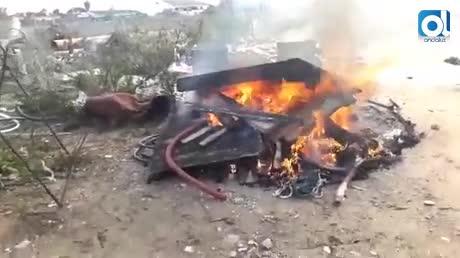 Denunciados por quemar materiales tóxicos en Sanlúcar
