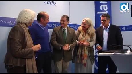 Ortiz, candidato del PP a las elecciones municipales en Cádiz