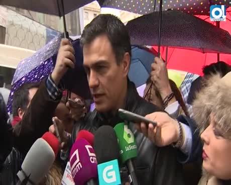 """Pedro Sánchez: El Gobierno """"no hace nada"""" por garantizar las pensiones"""