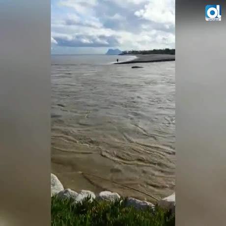 Atención a desembocaduras del Guadiaro y el Guadarranque tras lluvias