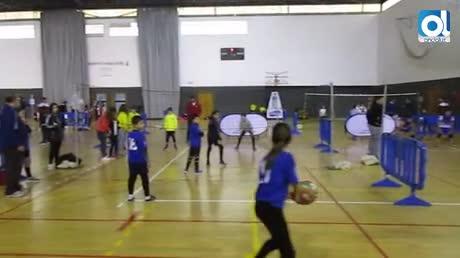 El Polideportivo acogió la Gran Convocatoria de Promesas de Voleibol