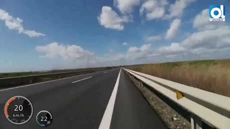 Ante el juez el conductor del camión que puso en riesgo a un ciclista