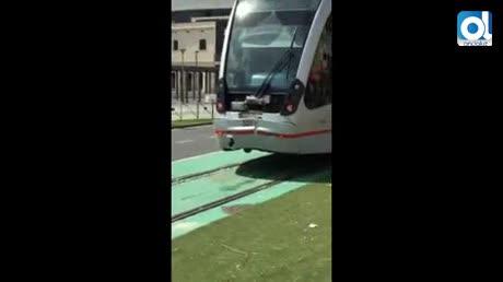 Aparatoso incidente del metrocentro en San Bernardo