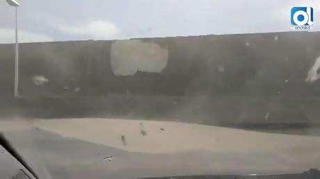 Dos heridos y 140 incidencias por el levante en la provincia de Cádiz