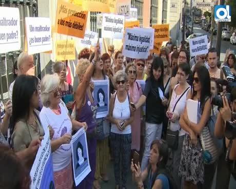 Juana Rivas sale del juzgado en libertad provisional sin medidas