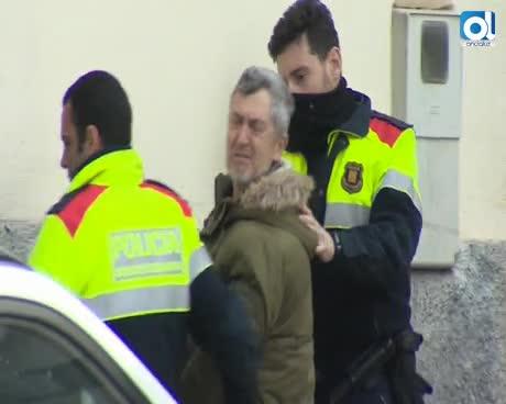 Mossos hallan pistola al detenido por crimen Susqueda