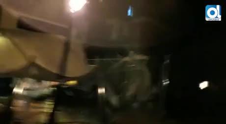 Registrado un tornado en Puerto Sherry