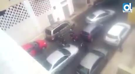 """VÍDEO del momento de la detención de la sospechosa: """"¡No he sido yo!"""""""