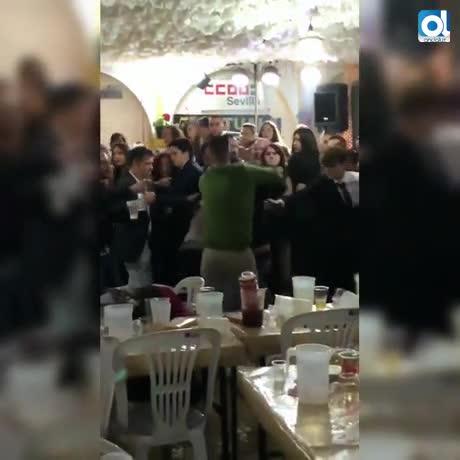 """CCOO Sevilla dice que la pelea de su caseta fue un """"incidente aislado"""""""