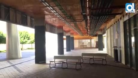 La Casa de las Artes recupera el uso de la entrada principal