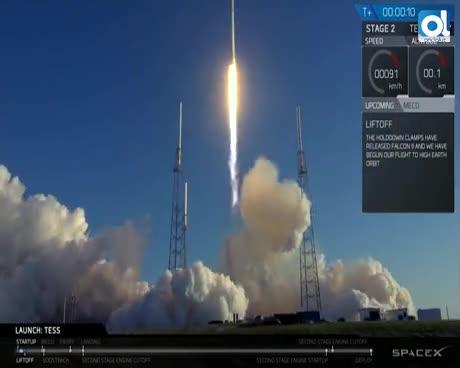 El buscador de mundos habitables Tess ya está en órbita