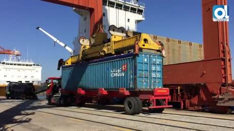 El Puerto de Sevilla mueve un 6,3% más de mercancías hasta marzo
