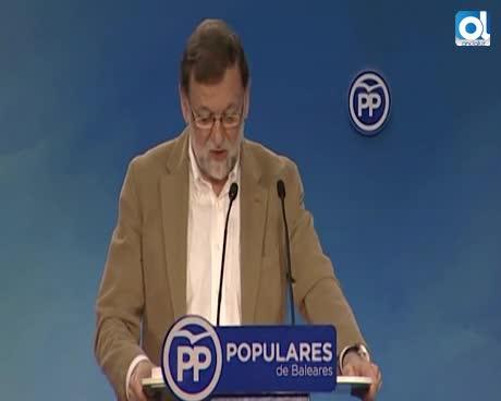 """Rajoy: Gobierno """"hace todo lo posible"""" por la normalidad en Cataluña"""""""