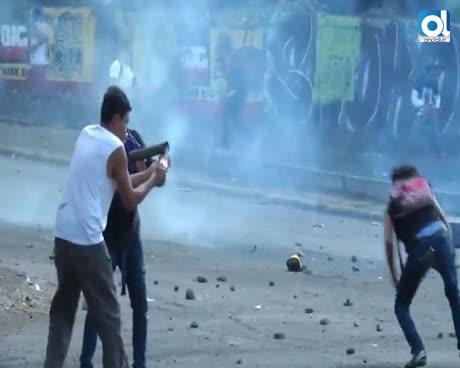 Un periodista muere retransmitiendo en vivo una protesta en Nicaragua