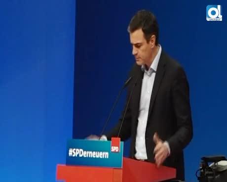 Pedro Sánchez pide ayuda a Alemania contra el separatismo catalán