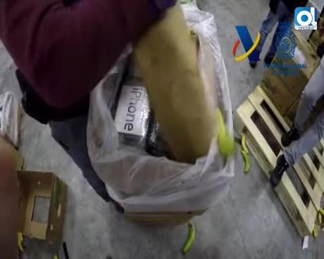 Tres detenidos en Málaga por el alijo de cocaína de 9 toneladas
