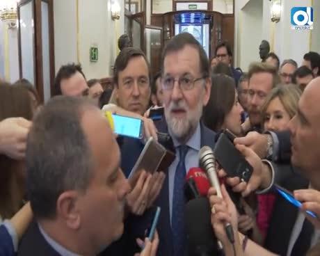 """Rajoy dice que era """"obligada"""" la dimisión de Cifuentes"""