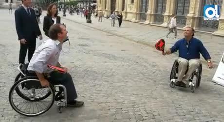 El primer Open Pádel federado en silla de ruedas llega a Sevilla
