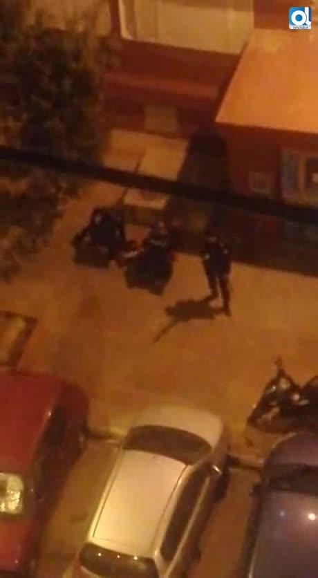 Intervención de la Policía Nacional en Guillén Moreno