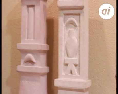 """""""Si hay un escultor fenicio, ese soy yo"""""""