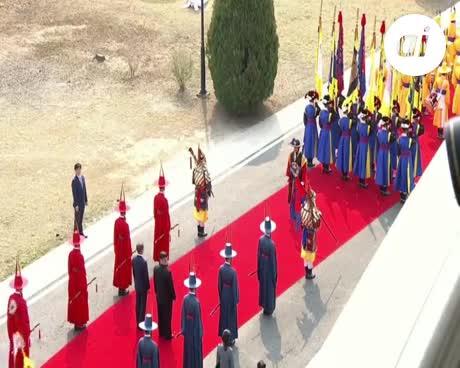 Las dos Coreas celebran histórica cumbre con compromiso de paz