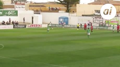 El Atlético Sanluqueño ganó pero perdonó ante el Mensajero