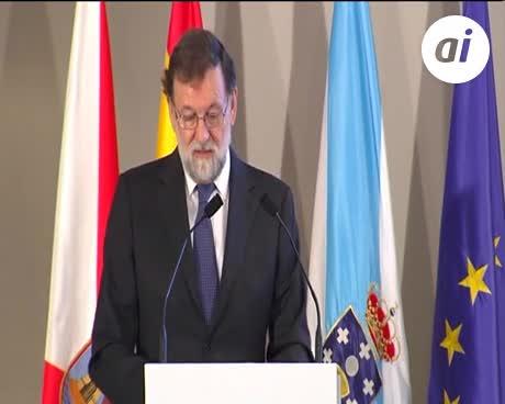 Rajoy reclama un gobierno viable en Cataluña, que cumpla la ley