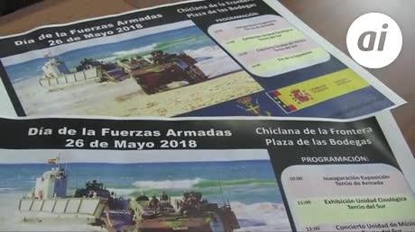 Exposición de vehículos militares y música por el Día de las FAS