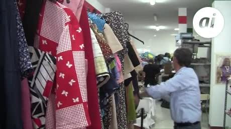 El Ropero de Cáritas atendió a 1.121 personas en el 2017