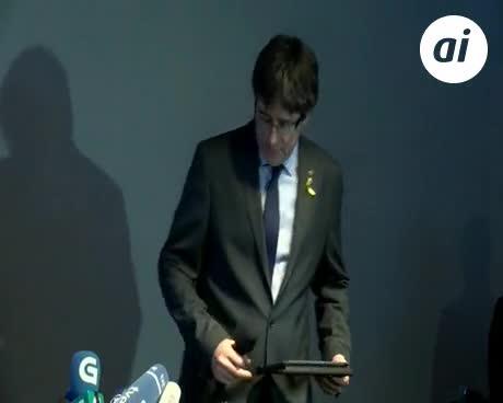La Fiscalía alemana pide la entrega de Puigdemont por rebelión