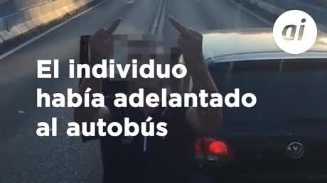 Se para en el túnel en Algeciras para increpar a otro conductor