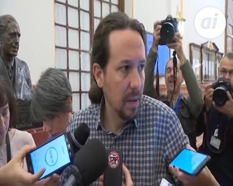 Iglesias y Montero aseguran que dimitirán si hay baja participación