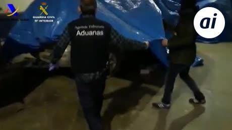 Cae una red de tráfico de hachís que operaba desde Lebrija (Sevilla)