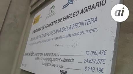 Las obras de consolidación del cuartel de La Loma, en su recta final