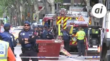 Aparece muerto uno de los dos desaparecidos en el derrumbe de Madrid