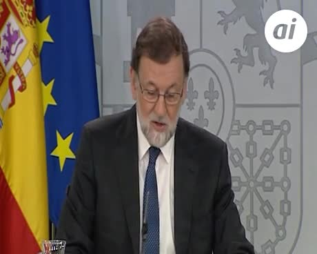 Rajoy reivindica su legitimidad y acusa a Pedro Sánchez