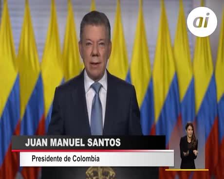 Santos anuncia el ingreso de Colombia a la OTAN