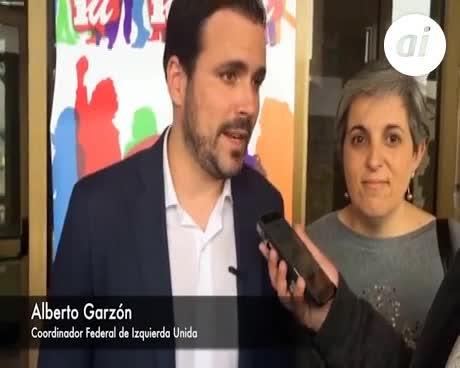 """Garzón ve """"difícil"""" aunque """"posible"""" que prospere la moción"""