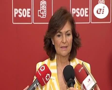 La idea de PSOE, convocar elecciones en unos meses si gana la moción